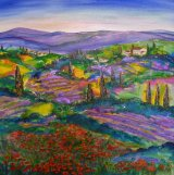 Tuscany Lavender Fields