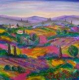 Tuscany Summer fields