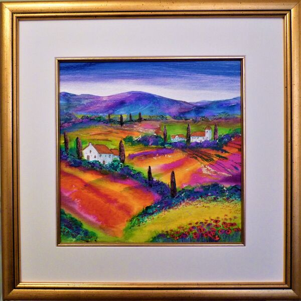 Tuscany summer evening SOLD