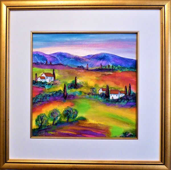 Tuscany summer morning SOLD
