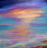 West coast evening glow SOLD