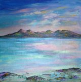 Arran summer evening   SOLD