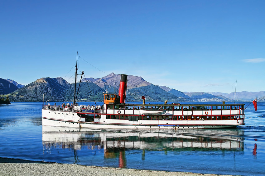 The TSS Earnslaw, Queenstown, New Zealand