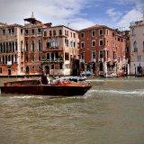 Venice river boat