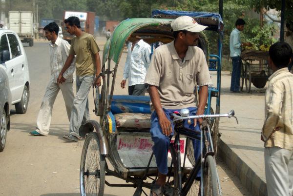 Busy Delhi