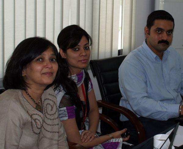 Mala, Lucha and Amit