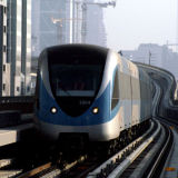 Dubai Metro test train