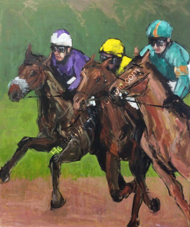 The Gallops #2, 51x61, £260