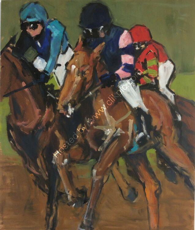 The gallop #1, 61x51, £260
