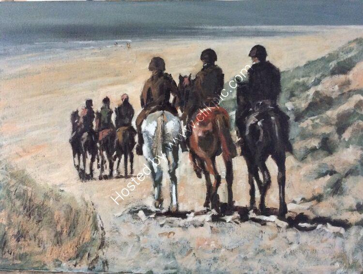 Gallop, after Mauve, £260
