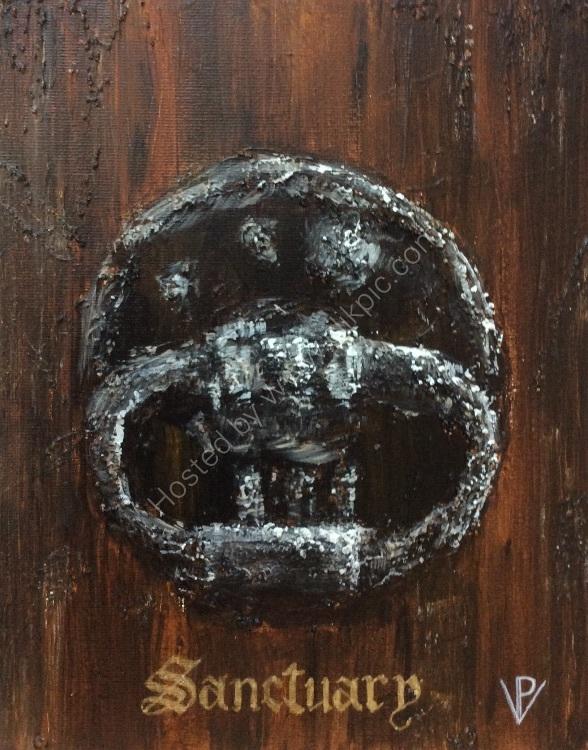 Sanctuary knocker
