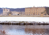 Chatsworth in the snow.