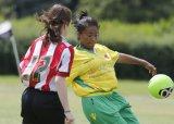 Girls Under 12's Football Tournament.