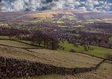 View over Bamford.