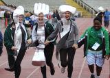 Fancy Dress Runners,Transplant Games,Sheffield.