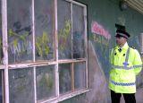 South Yorkshire Police-Vandalised Pavilion