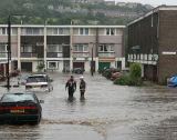 Winn Gardens.Sheffield Floods 2007