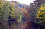 Matlock Bath,Derbyshire.Autumn Scene.