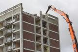High Green Tower Block-Demolition