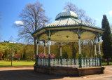 Hall Leys Park Bandstand,Matlock.