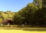 Hall Leys Park in the Summer,Matlock.