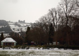 Hall Leys Park in the Winter,Matlock.