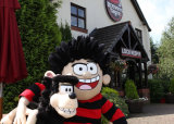 Dennis the Menace PR at Brewers Fayre