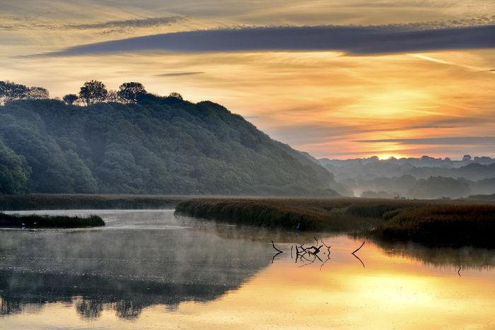 Newport Estuary Sunrise