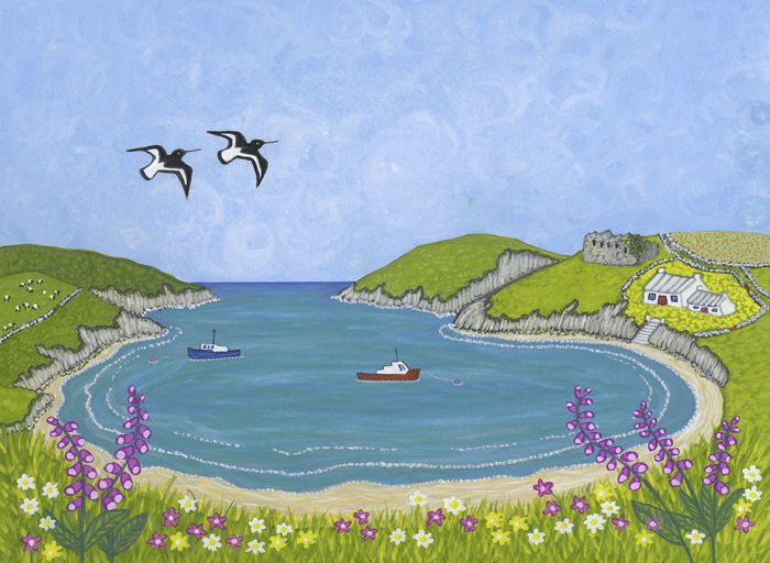 Abercastle Oystercatchers