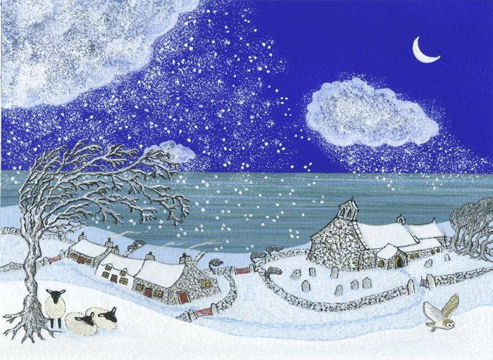 Christmas Eve at Llanwnda