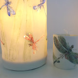 Dragonfly Lantern & T-light Holder