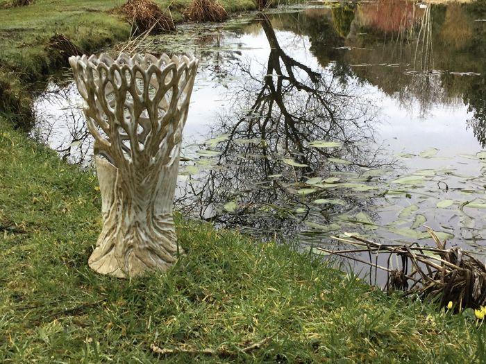 Lamp based on trees