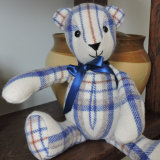 Vintage Welsh Blanket Bear
