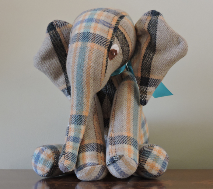 Vintage Welsh Blanket Elephant