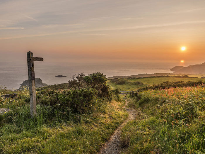 Pwll Deri Sunset