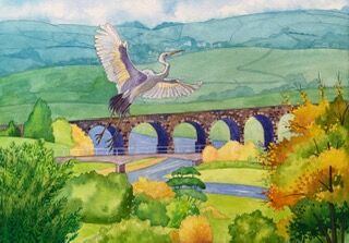 11 Arches over the River Loughor