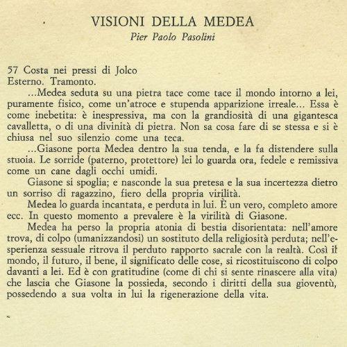 Visione della Medea