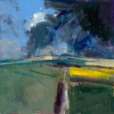 South Downs Passing Storm 59x59cm 2009 Estate of Peter Iden #1