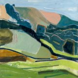 Didling Summer Landscape 75x75cm (2000) Oil on canvas Estate of Peter Iden Number 304 Price: £3500 SOLD