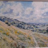 Downland near Storrington 49x39cm (2010) Oil on board Estate of Peter Iden 36 Price: £2000