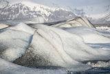 Fjallsarlon icebergs
