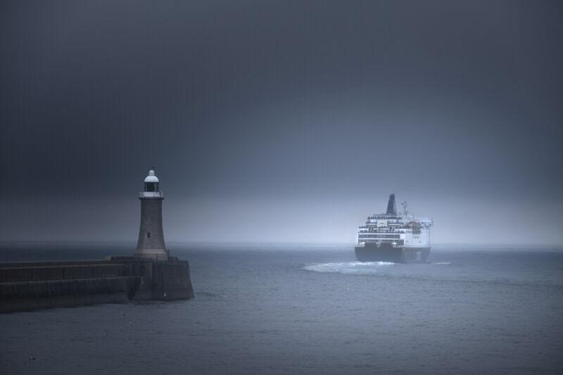 Last ferry to Amsterdam