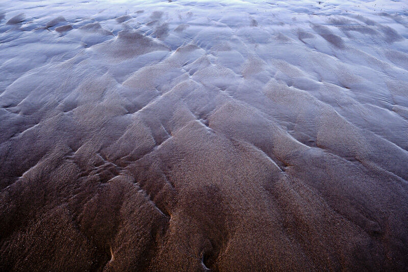 Mountains in the sand