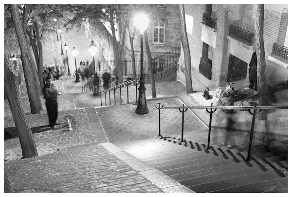 Montmarte Steps
