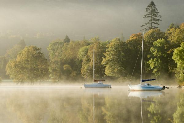 Morning boats, Ullswater