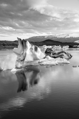 Iceberg, Glacier Lake