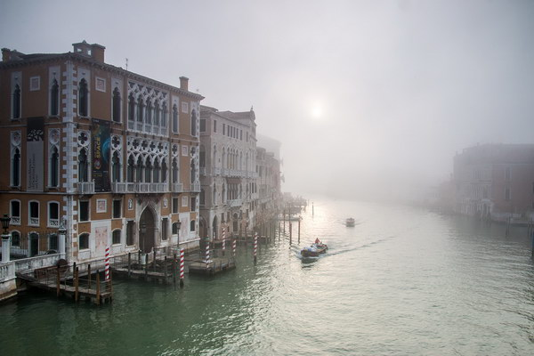 Early Morning on the Grand Canal, Venice
