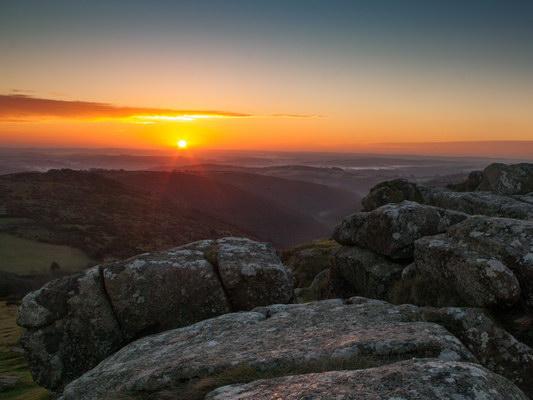 Dawn from Sharptor