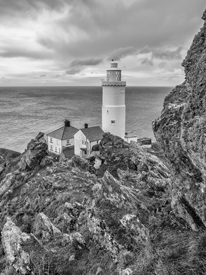 A Grey Day out at Start Point Lighthouse