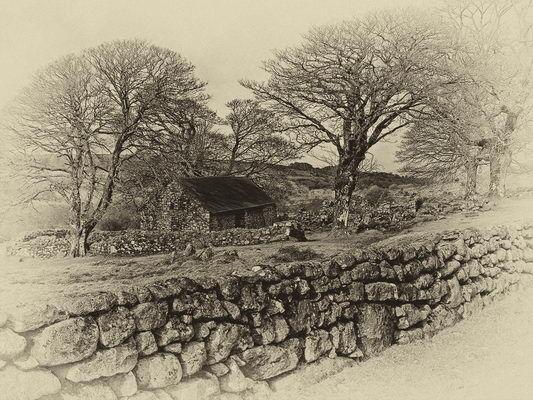 Emsworthy Barn Winter